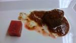 Llom de cabra salvatge i salsa mostassa